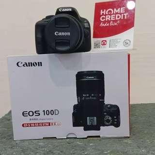 Canon EOS 100D, bisa dicicil tanpa Kartu credit