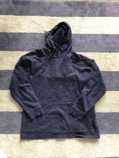 Navy hoodie size small