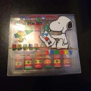 珍藏* Snoopy 水筆12色套裝 (只剩餘微弱墨水)