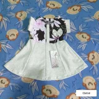 🆕 Dress Baby, Soft Grey (a)