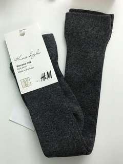 H&M knee high socks