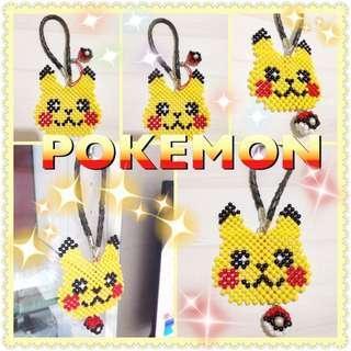 寶可夢 pokemon 神奇寶貝 精靈球 串珠吊飾