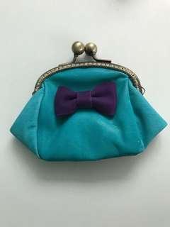 Handmade genuine leather purse