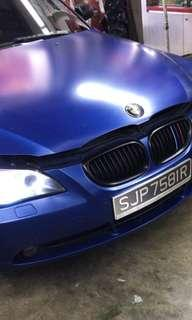BMW 520 Remus exhaust for sale