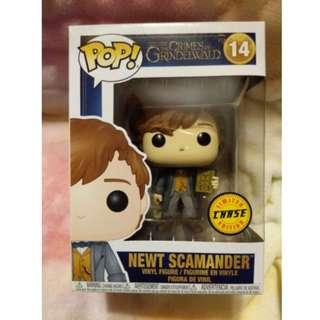 Funko Pop Newt Scamander Chase Harry Potter