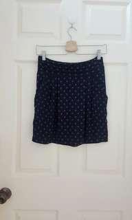 New! MANGO Floral Skirt