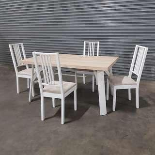 Display Ikea Dining Table And Chairs