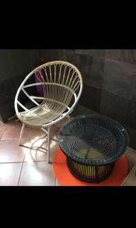 Brand new solid Rattan coffee table. Price negotiable
