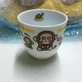 全新絕版馬騮仔 monkichi om陶瓷杯