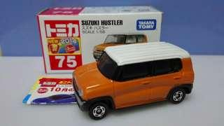 鈐木 Suzuki Hustler 越製 Takara Tomica Tomy 75