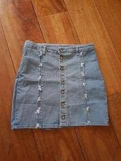 Maong Skirt ( Repriced )
