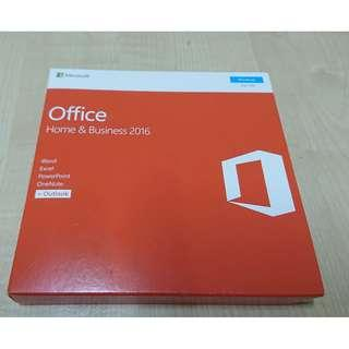 GENUINE MICROSOFT OFFICE HOME AND BUSINESS 2016