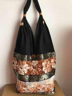 Bohemian casual hand bag from Thailand