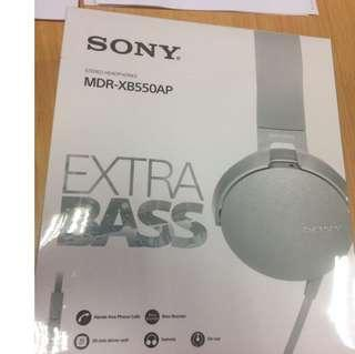 Original Sony MDR-XB550AP Extra Bass Music Stereo