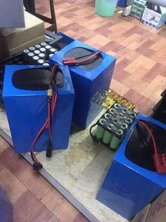 Lithium battery for ebike