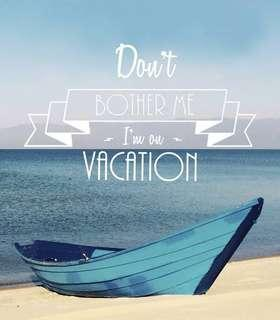 Vacation mode on!!!
