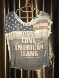 Amerika jeans crop