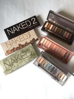 Eyeshadow Naked Set