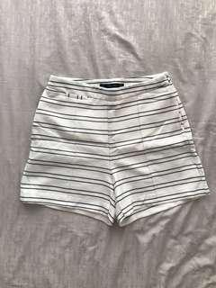 Zara Stripes Shorts