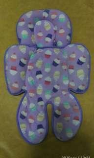 Alas stroller cuddle me cupcake ungu