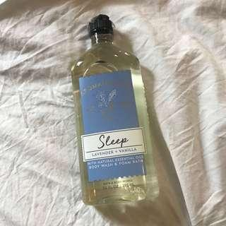 BRAND NEW Bath & Body Works Sleep Body Wash