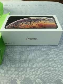 iPhone XS MAX 256GB sealed (Gold)