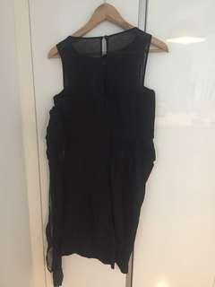 New Reiss black dress UK12 with tags