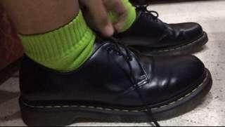 Dr. Martens Black Low Cut Leather Docs