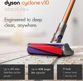 🚚 Brand new Dyson V10 Absolute +