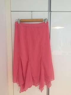 New H&M pink skirt UK6