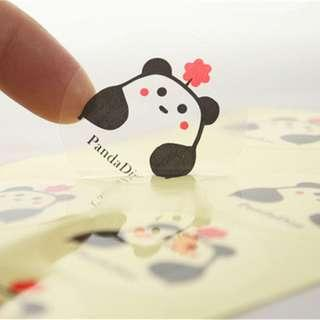 Customise rect square round Stickers Print