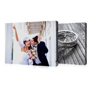 Canvas Wedding / Family Photo Prints
