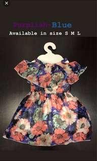 🚚 Cut off shoulder dress