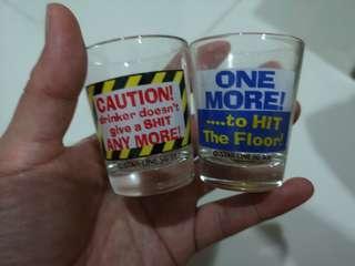 🚚 Shot glass of 2