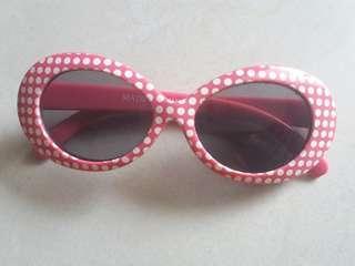 Kacamata Polkadot
