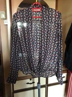Printed blouse #APR10
