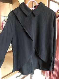 Anaabu black blouse #APR10