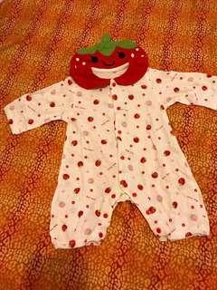 Baby Clothes新生兒草莓夾衣 #newbieMar19
