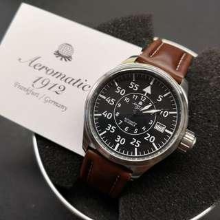 Aeromatic 德國飛行腕錶 (大霸的凸面細飛 - A1440)