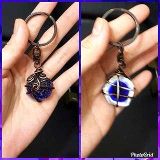 🚚 鑰匙圈 特製 自製 獨家設計 琉璃 鑰匙 包包 #好物免費送 #年末感恩免費送 #免費送