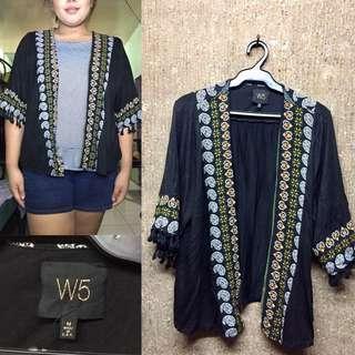 W5 Plus Size Kimono