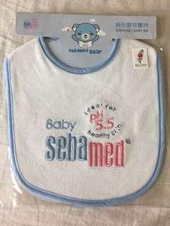 🚚 施巴5.5嬰兒圍兜 全新 只有一個
