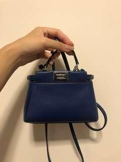 Fendi micro peekaboo bag