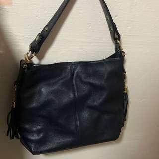 🚚 Navy blue smart casual hand/shoulder bag