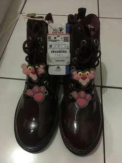 Sepatu Boot anak zara girl/kids original and new