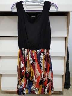 Brushstrokes dress