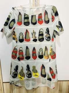 Dress Sepatu