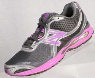 half off 430be 9cdce NEW BALANCE Womens Fantom Fit N2 Running Shoes Silver Gray Pink