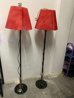Stand floor lamp RM40 both!