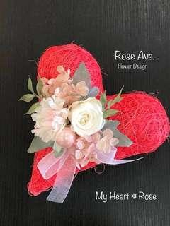 My Hart ❤︎ Rose -Preserved  Flower gift-